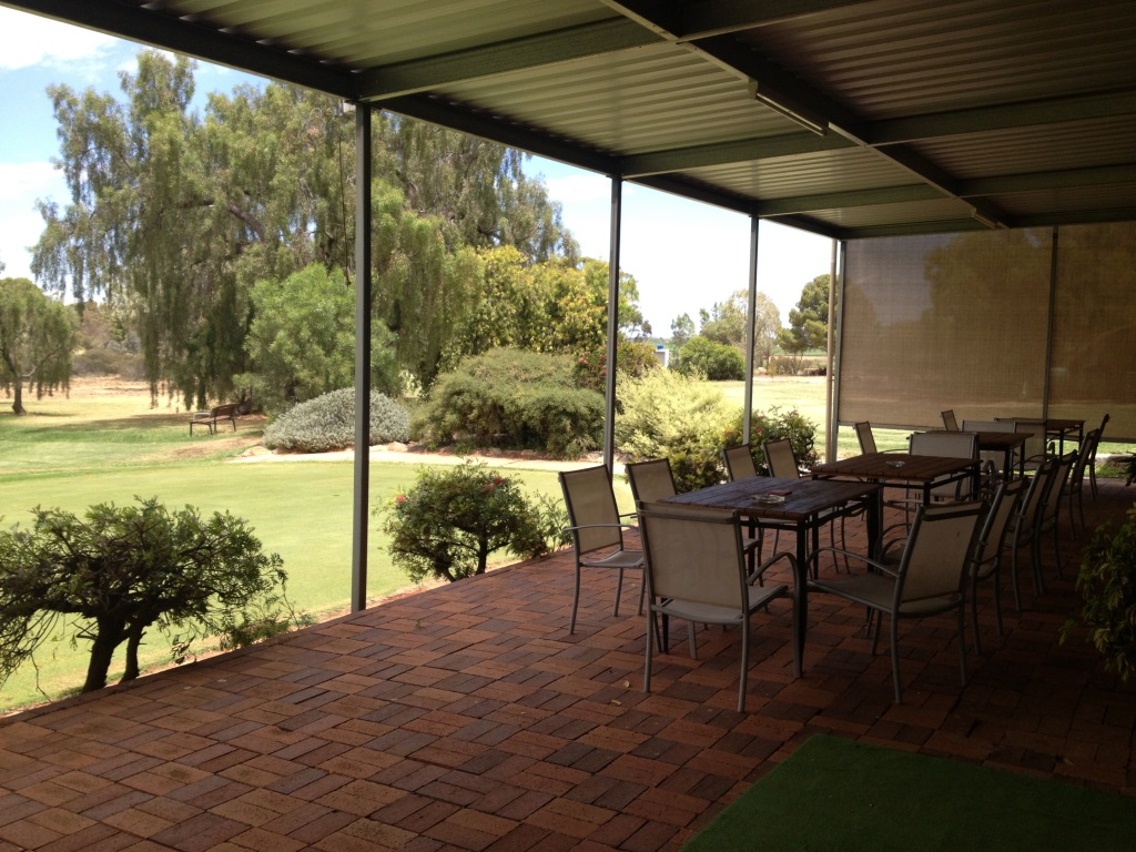 Decking at Loxton Golf Course